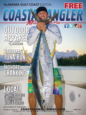 Coastal Angler Magazine - March / Alabama Gulf Coast by Coastal
