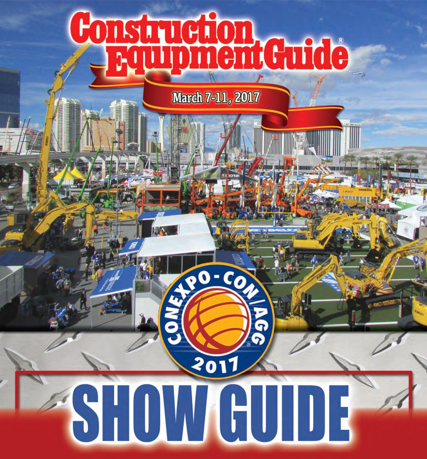 Conexpo Con Agg 2017 Newsprint By Construction Equipment Guide Issuu