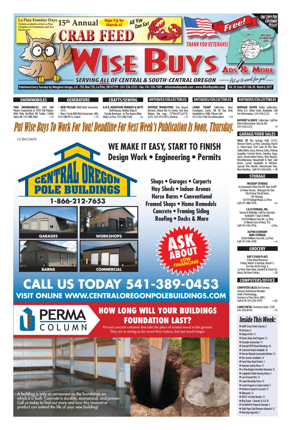 Wise Buys 02-28-17 by Wise Buys Ads & More - Issuu