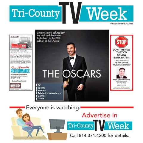 a8f8b97189e TV022417 by Tri-County TV Week - issuu