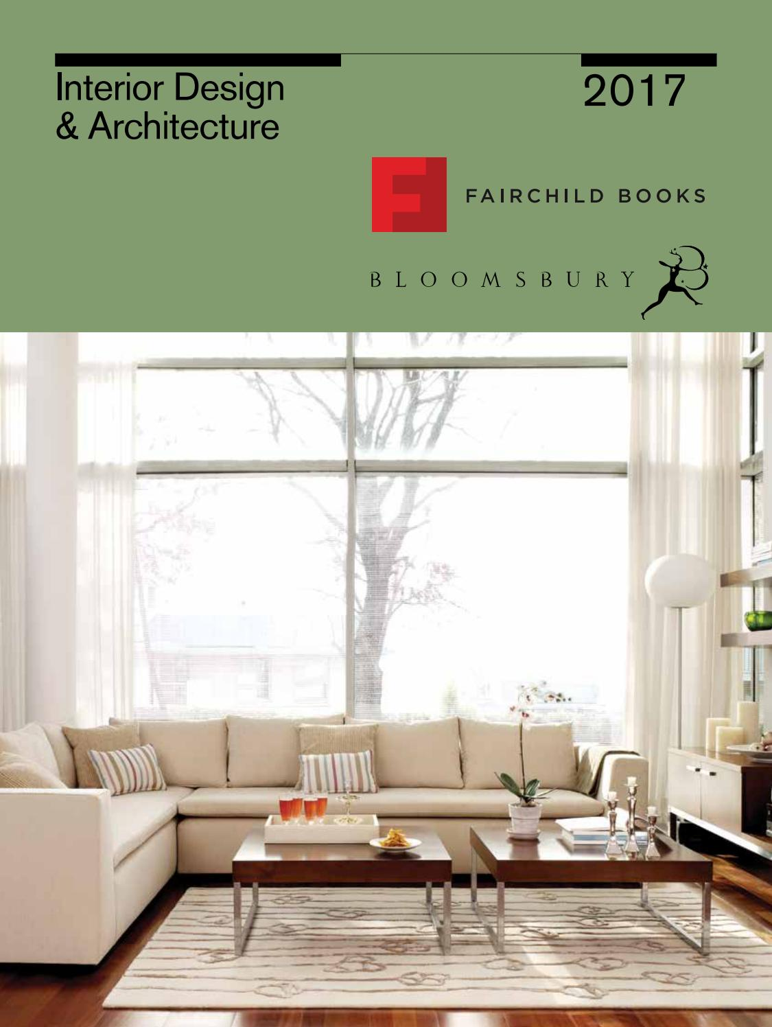 Interior Design And Architecture 2017 Catalogue By Bloomsbury Publishing
