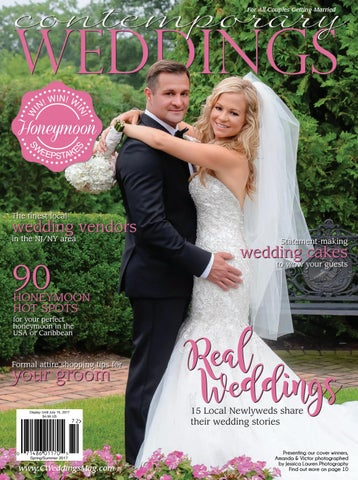 a7bc1ae161 Contemporary Weddings Magazine - Spring Summer 2017 New Jersey ...