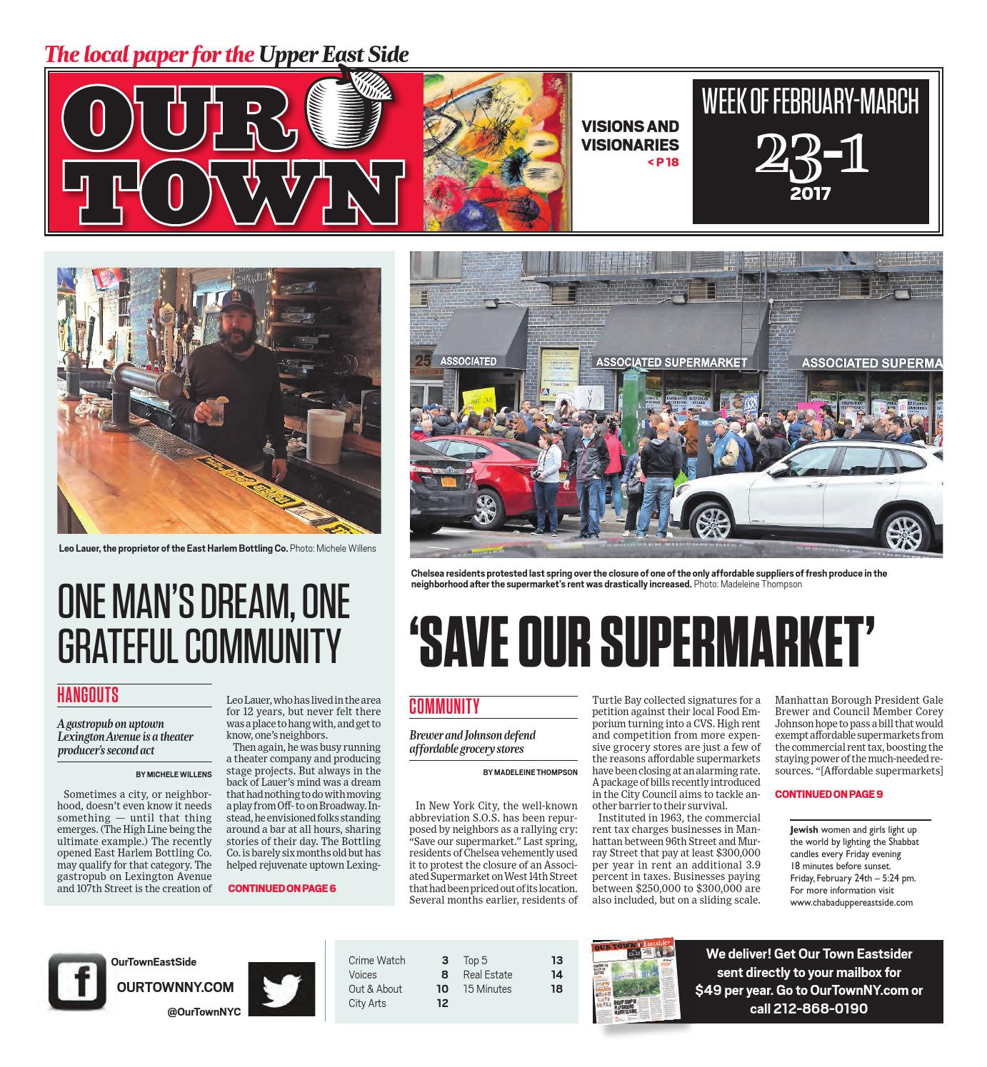Our Town - February 23, 2017 by Our Town - issuu