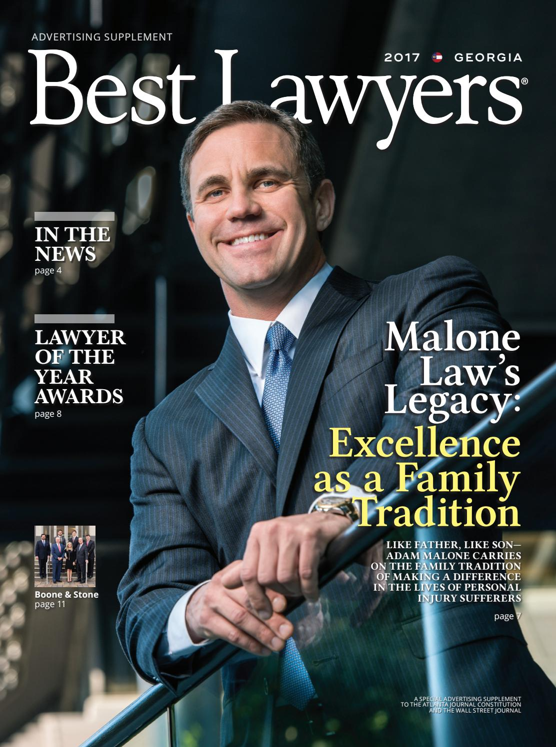 Best Lawyers In Georgia 2017 By Best Lawyers Issuu