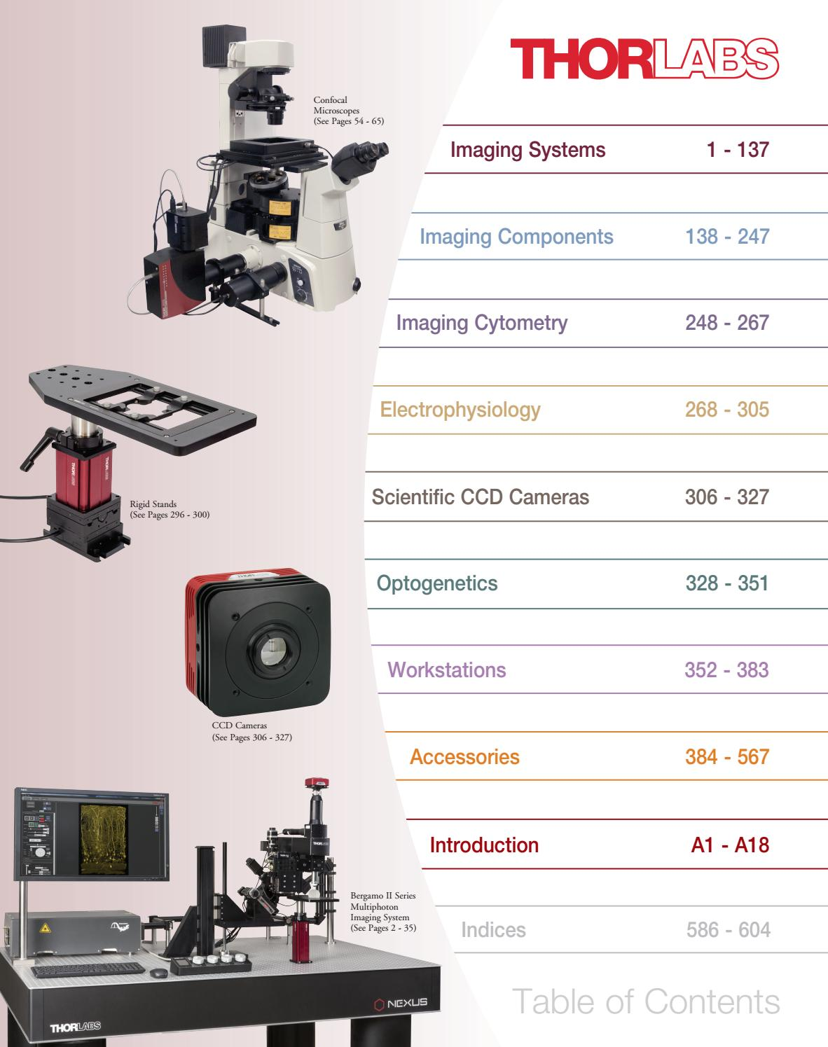 01 imaging systems pdf thorlabs by Axxis ecuador - issuu