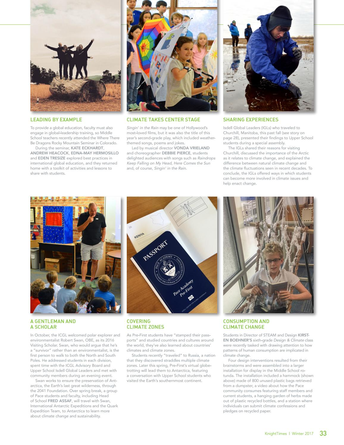 KnightTimes Winter 2017 by Pace Academy - issuu