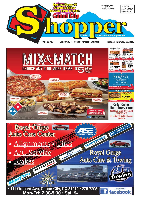 Canon City Shopper 2-28-17 by Prairie Mountain Media - issuu