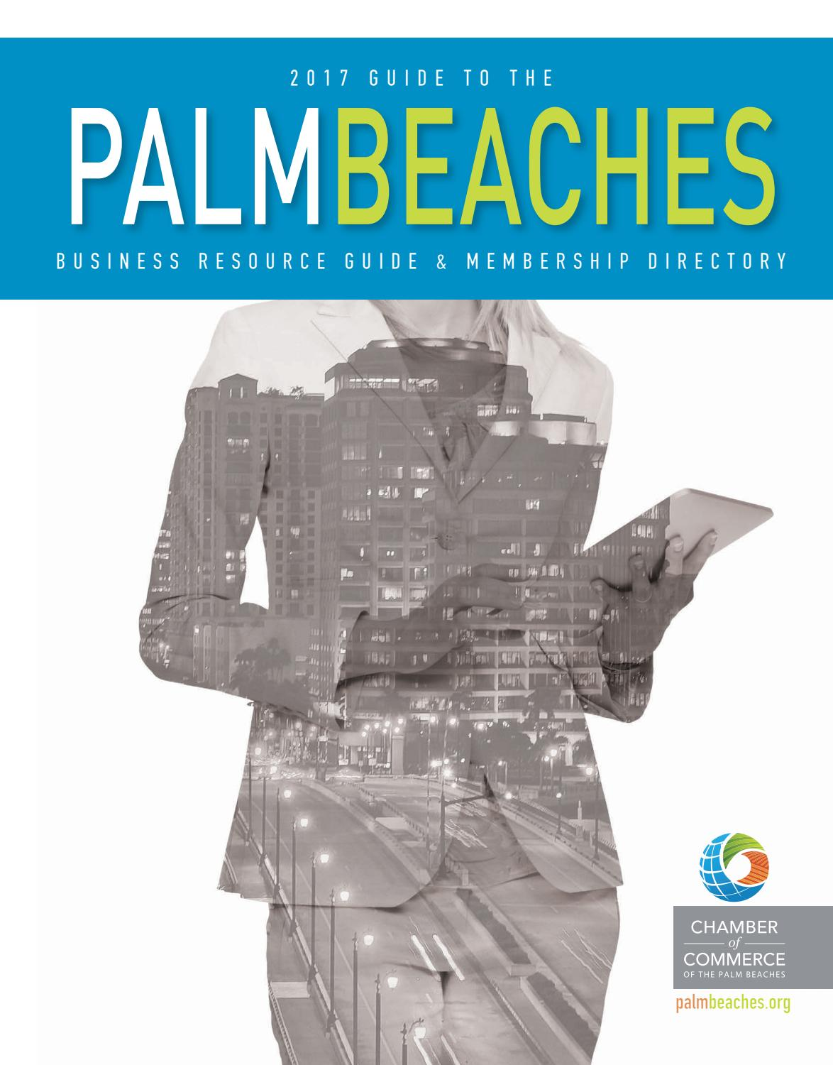 662e016b72e 2017 Guide to the Palm Beaches by Chamber of Commerce of the Palm Beaches -  issuu