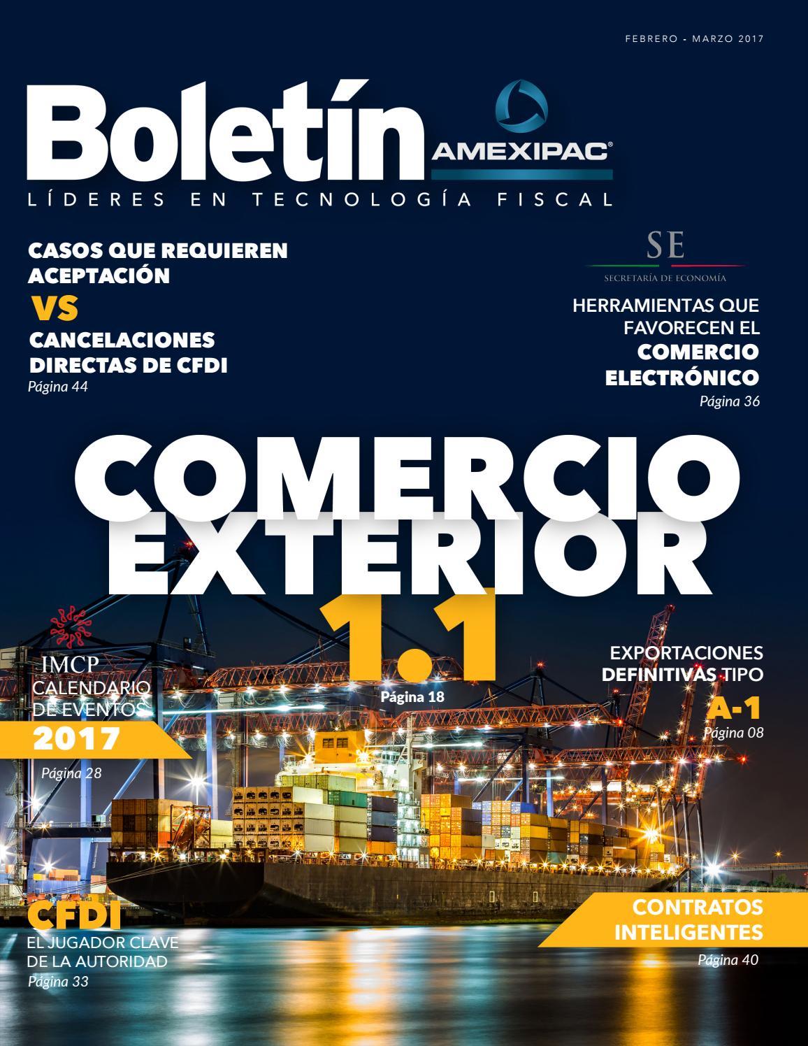 Boletín AMEXIPAC - Febrero-Marzo 2017 by AMEXIPAC - issuu