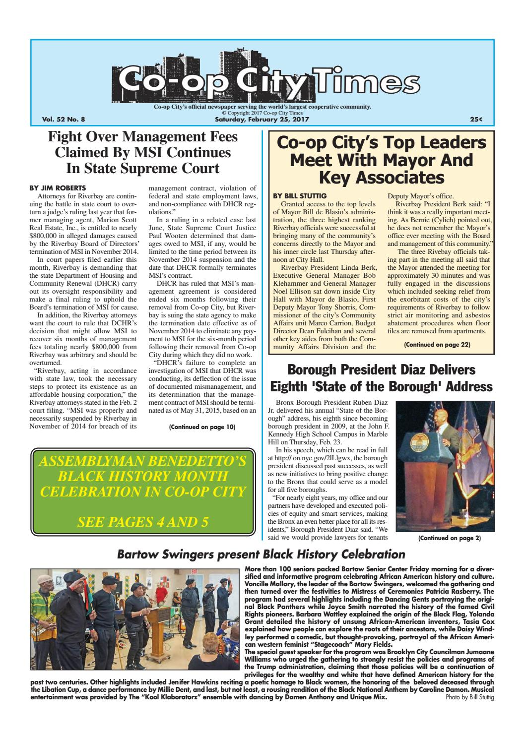 Co-op City Times 02/25/17 by Co-op City Times - issuu