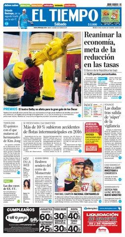EL TIEMPO 25 02 2017 by Andres A. - issuu ff9af88199651