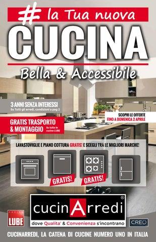 La tua nuova cucina by cucinarredi issuu for Realizza la tua cucina