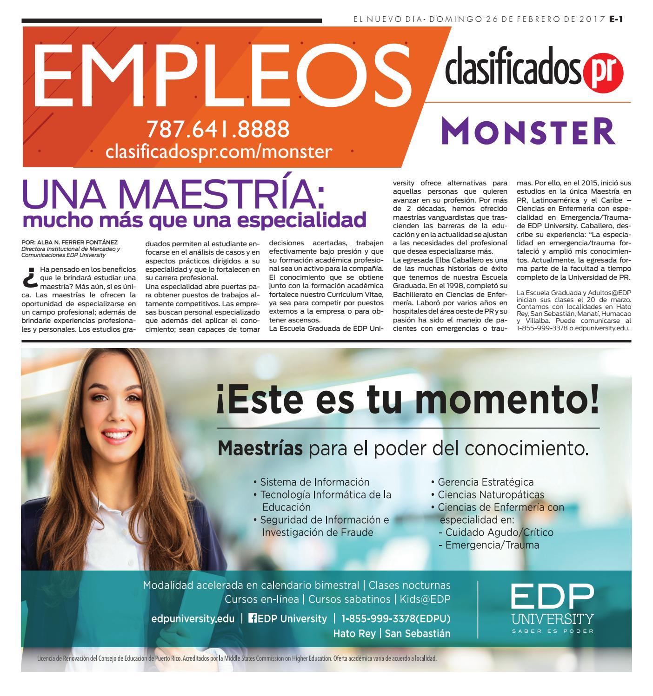 Empelos 02 26 2017 by ClasificadosPR.com - issuu