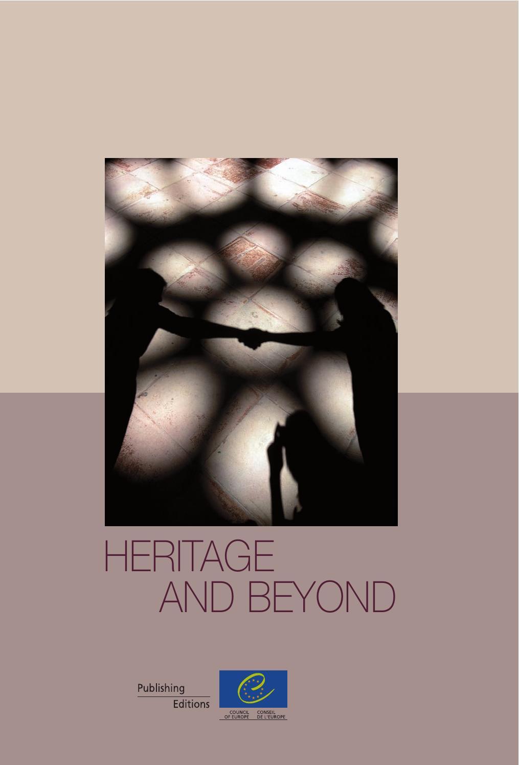 Heritage and beyond consejoeuropa by Asociación Española de Gestores