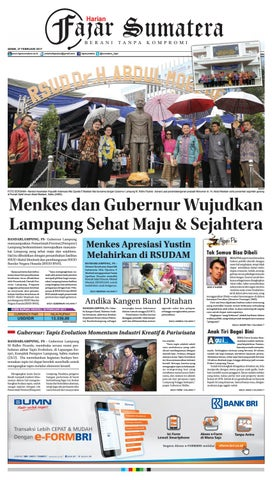 FAJAR SUMATERA l SENIN 27 FEBRUARI 2017 by Fajar Sumatera - issuu bc30af2b06