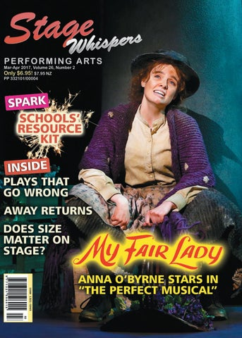 Stage Whispers March/April 2017 by Stage Whispers Magazine
