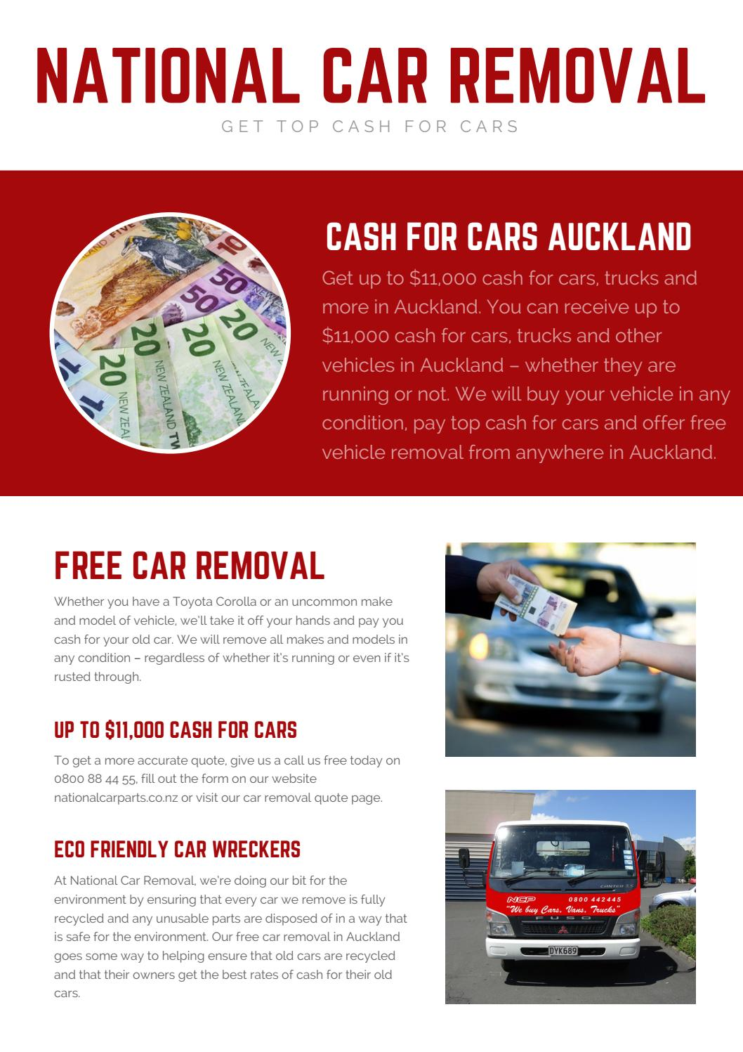 Car wreckers Auckland by National Car parts - issuu