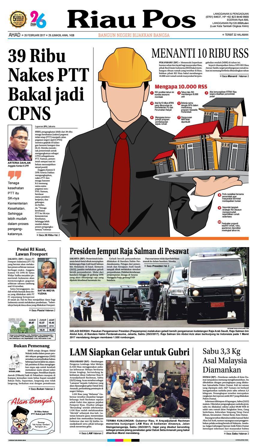2017 07 16 By Riau Pos Issuu Camilan Busa Kepiting Indahamp039s Fresh Ui 02 26