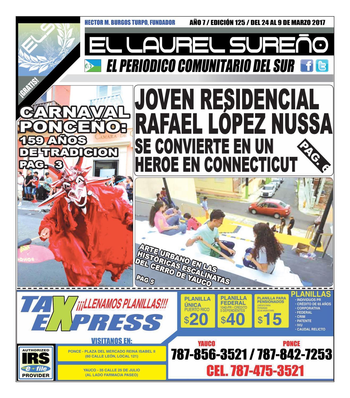 EL LAUREL SUREÑO, EDICION 125 by Hector M. Burgos Turpo - issuu