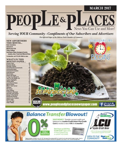 March 2017 people places newspaper by jennifer creative issuu page 1 fandeluxe Gallery