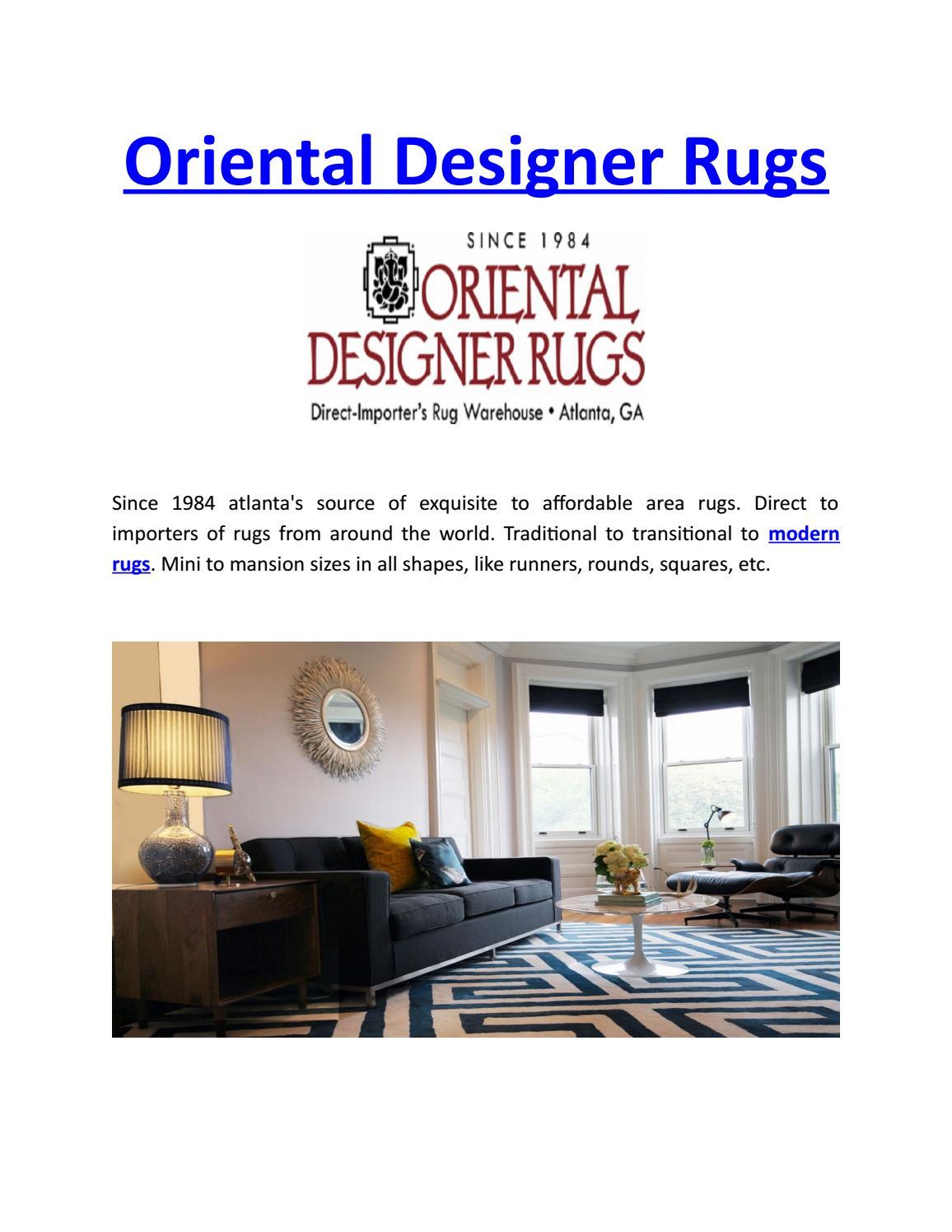 Modern Rugs Oriental Designer