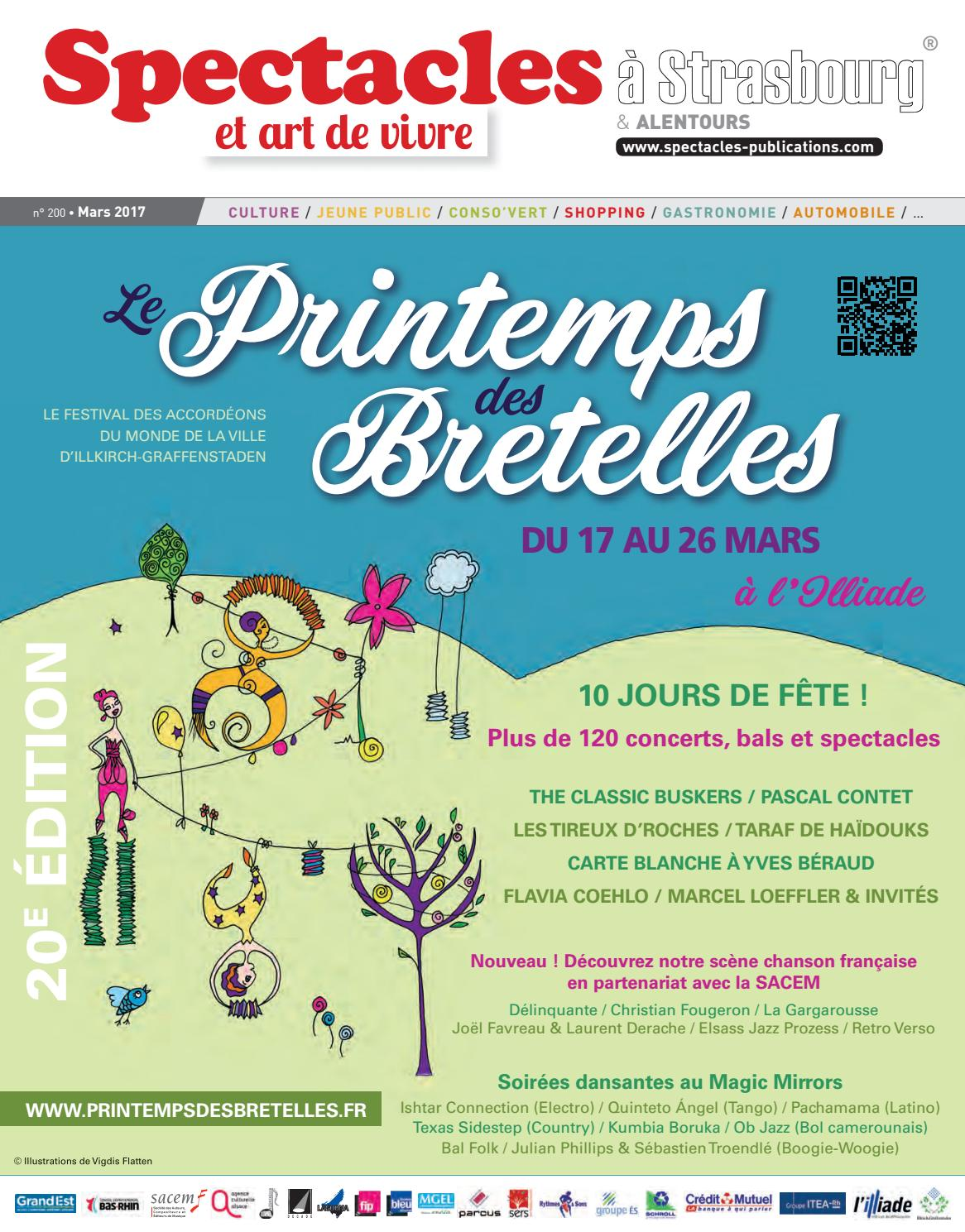 Meubles 3 Fontaines Ittenheim spectacles publications strasbourg n°200 / mars 2017