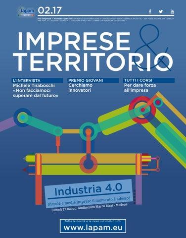 64cab08d17 Imprese & territorio - febbraio 2017 by Lapam Confartigianato - issuu