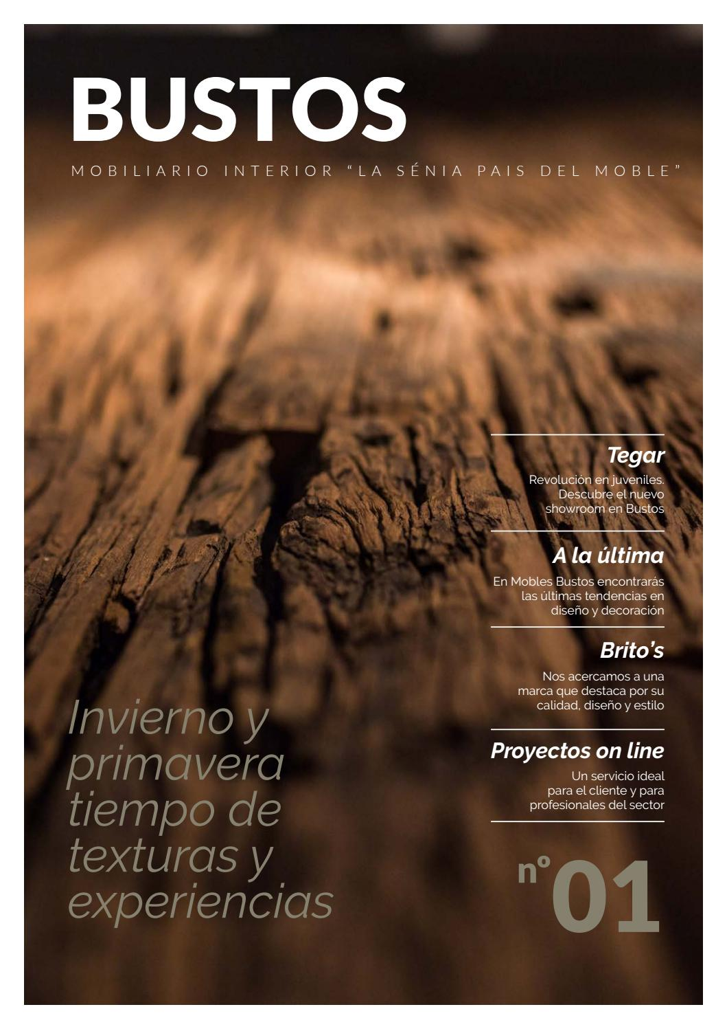 Revista bustos n 1 by mobles bustos issuu - Mobles bustos ...