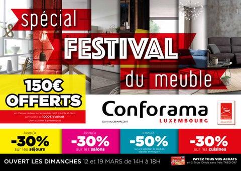Doc 19 Spécial Festival Du Meuble By Conforama Luxembourg