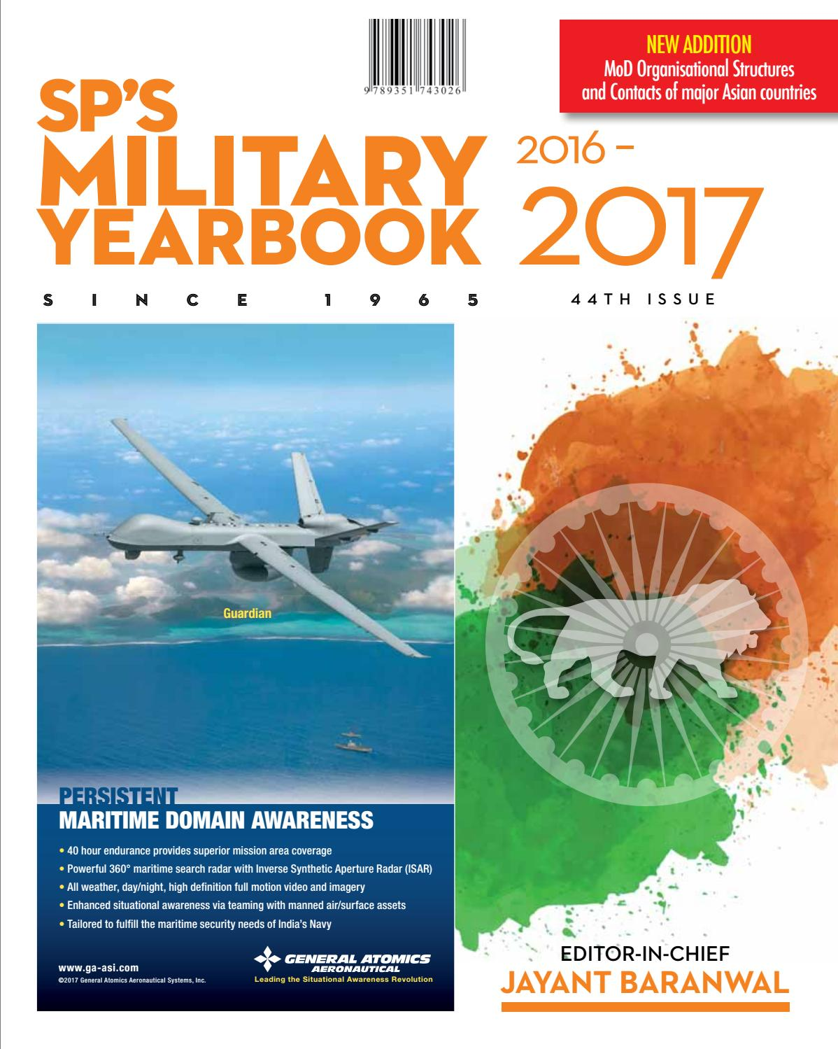SP's Military Yearbook 2016-2017 by SP Guide Publications