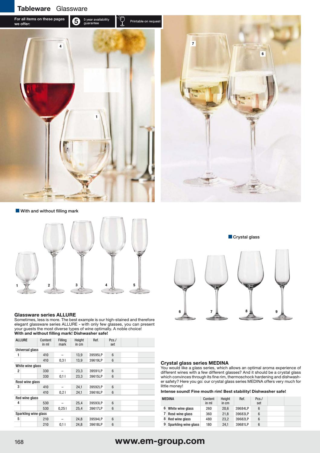 image about Printable Glassware titled Katalog VEGA 2017 - wyposażenie dla gastronomii, hoteli oraz