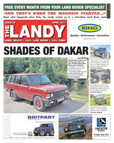 The landy april 2017 by assignment media ltd issuu read what happened when ruby the landy rocked up at a columbian land rover meet fandeluxe Choice Image