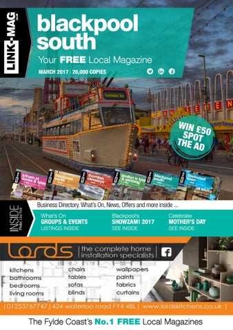 d6ea4d2061 Blackpool south magazine march 2017 by LINK-MAG - issuu