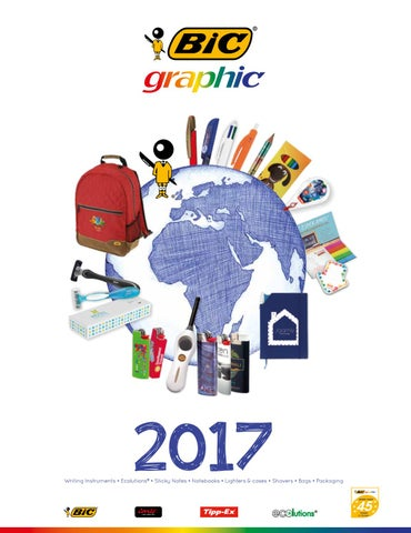 33a87c53f Bic graphic catalogue by PT-Design Oy - issuu