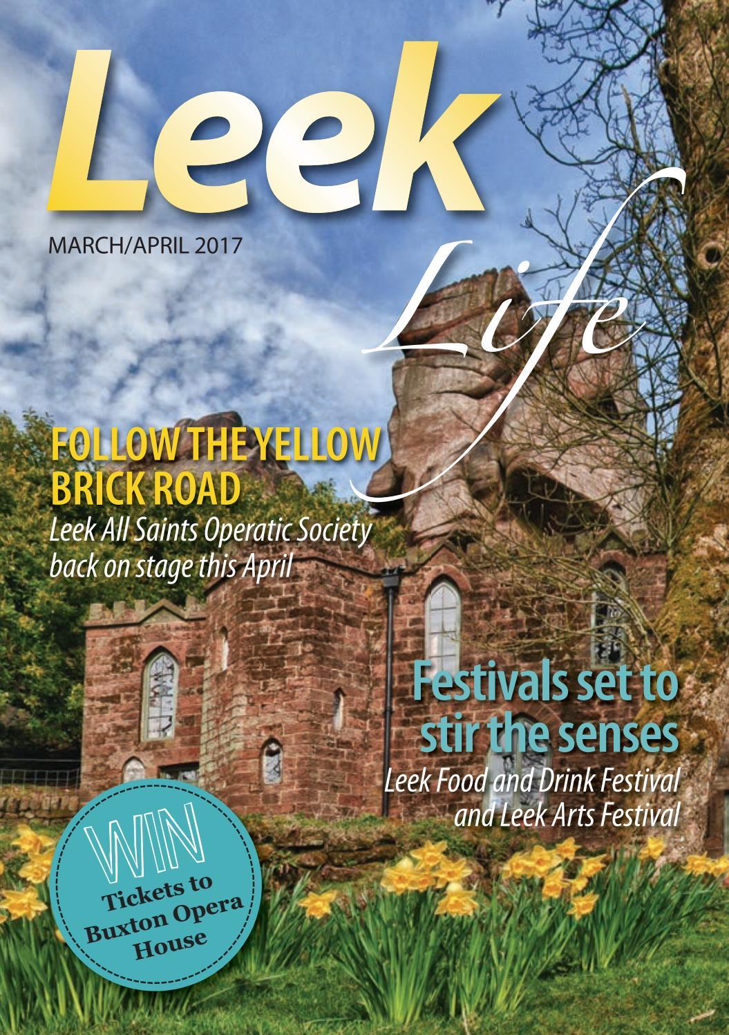 Leek Life Mar Apr 2017 by Times Echo and Life - issuu
