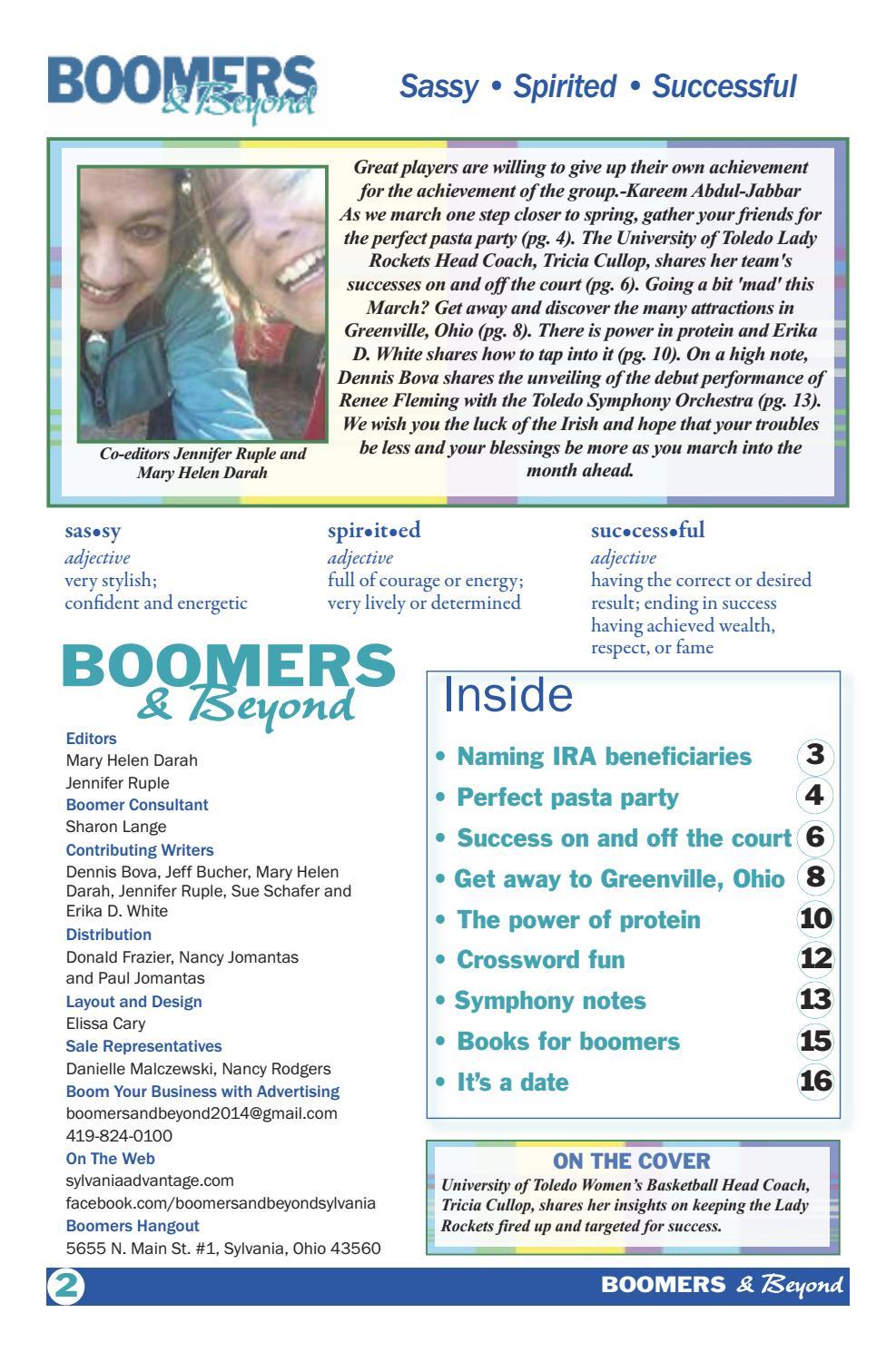 Ohio Boomers dating