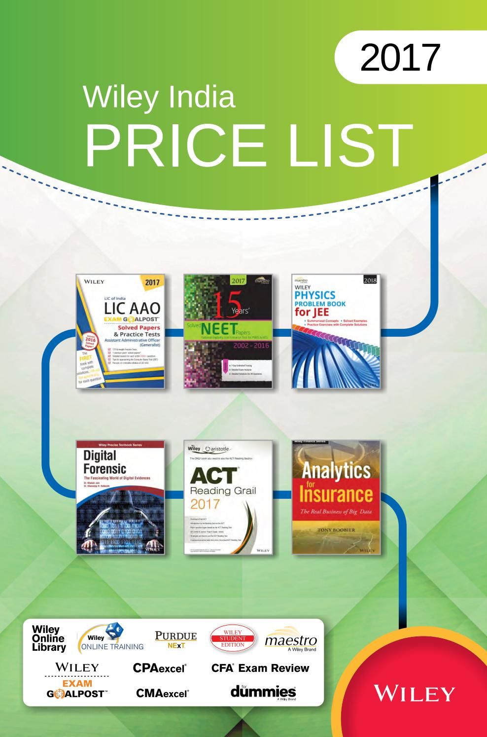 Wiley india price list 2017 by wiley india issuu fandeluxe Gallery