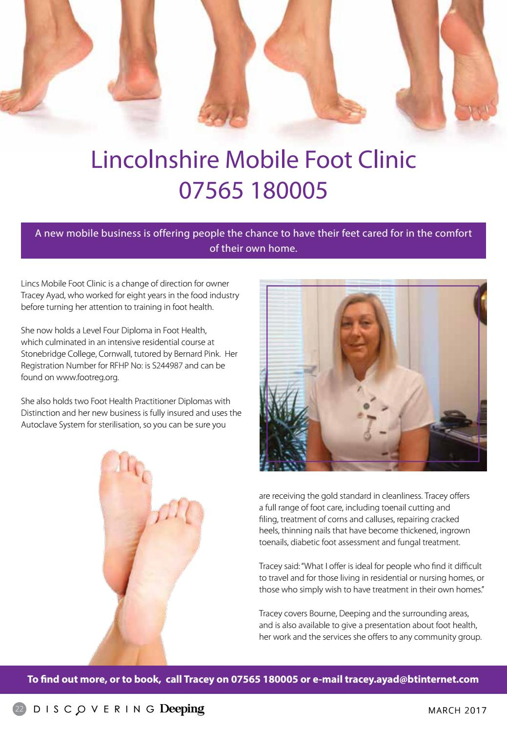 diabetic foot care course