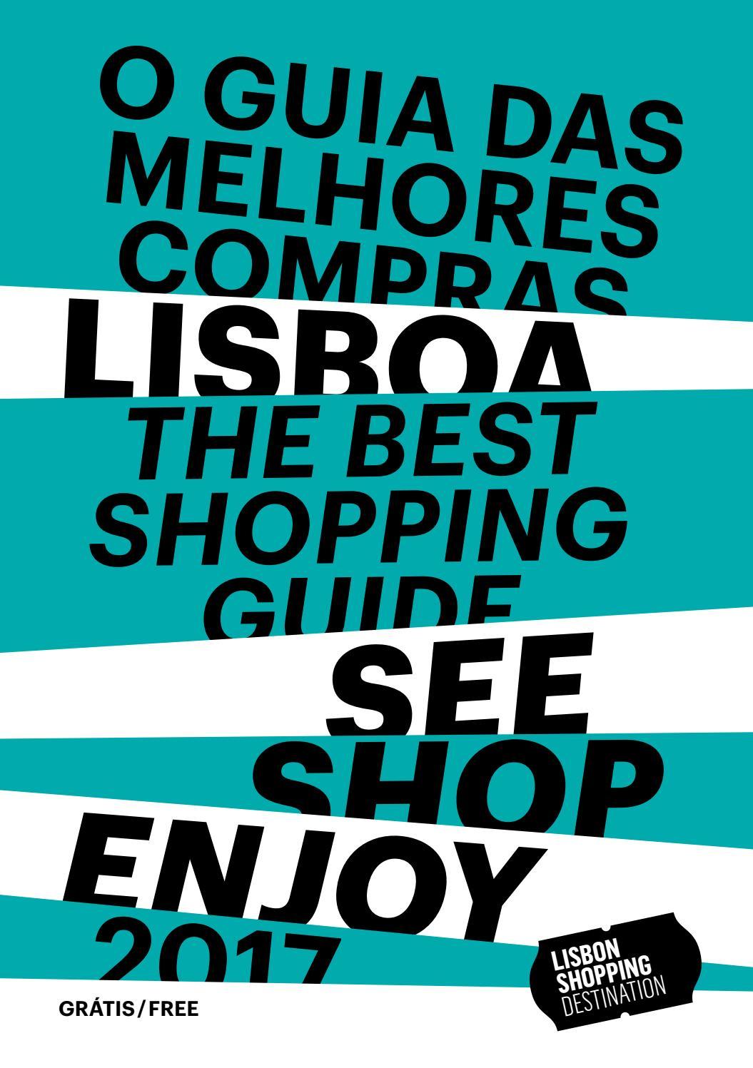 Guia das Melhores Compras Lisbon Shopping Destination 2017