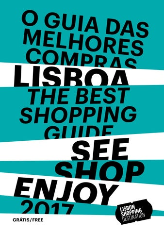22734ed70a74 Guia das Melhores Compras - Lisbon Shopping Destination 2017 by Café ...
