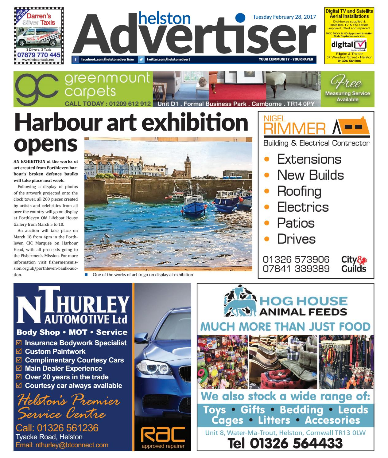 Helston Advertiser - Februay 28th 2017 by Helston Advertiser