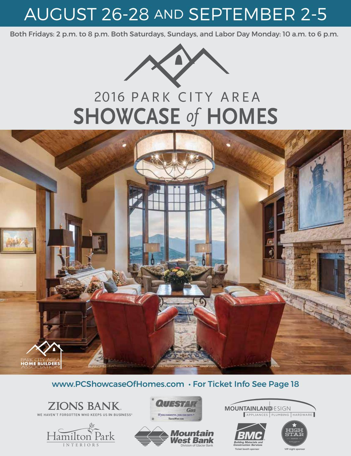2016 Park City Showcase Magazine By Utah Media Group