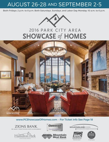 2016 Park City Showcase Magazine By Utah Media Group