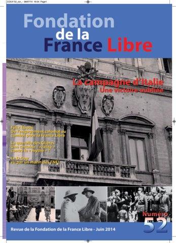 362cf0dd29b3dd Revue de la Fondation de la France Libre N°52 by Fondation de la ...