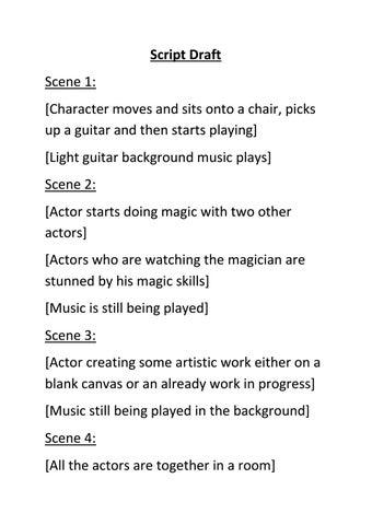 Script Draft by Jack Patchett - issuu