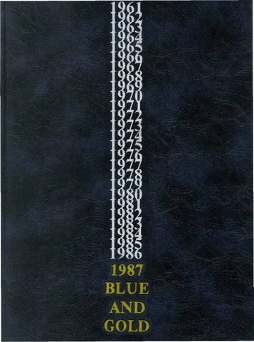 1987 Blue and Gold Yearbook by La Salle College High School