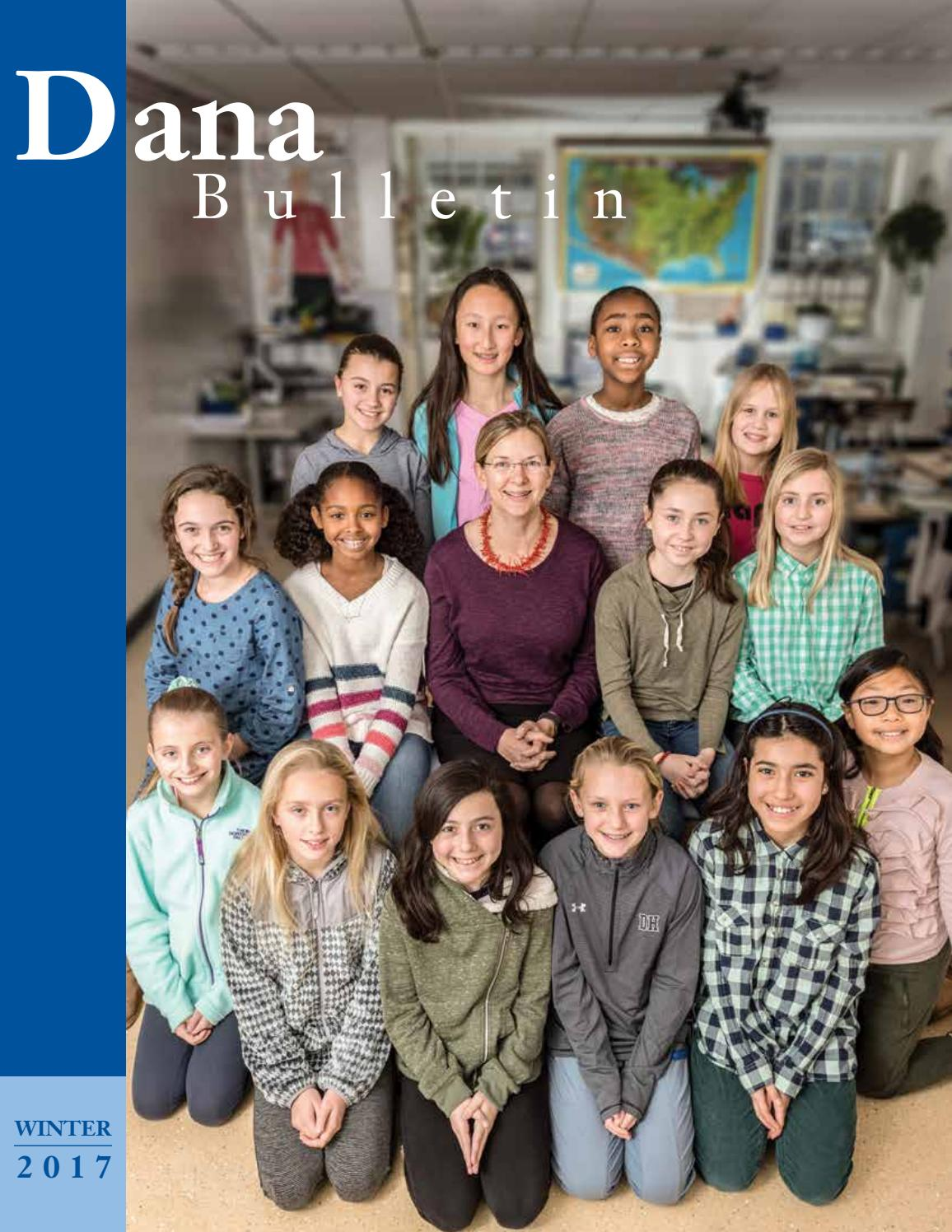 de8593c307b6 Dana Hall Winter 2017 Bulletin by Liza Cohen - issuu