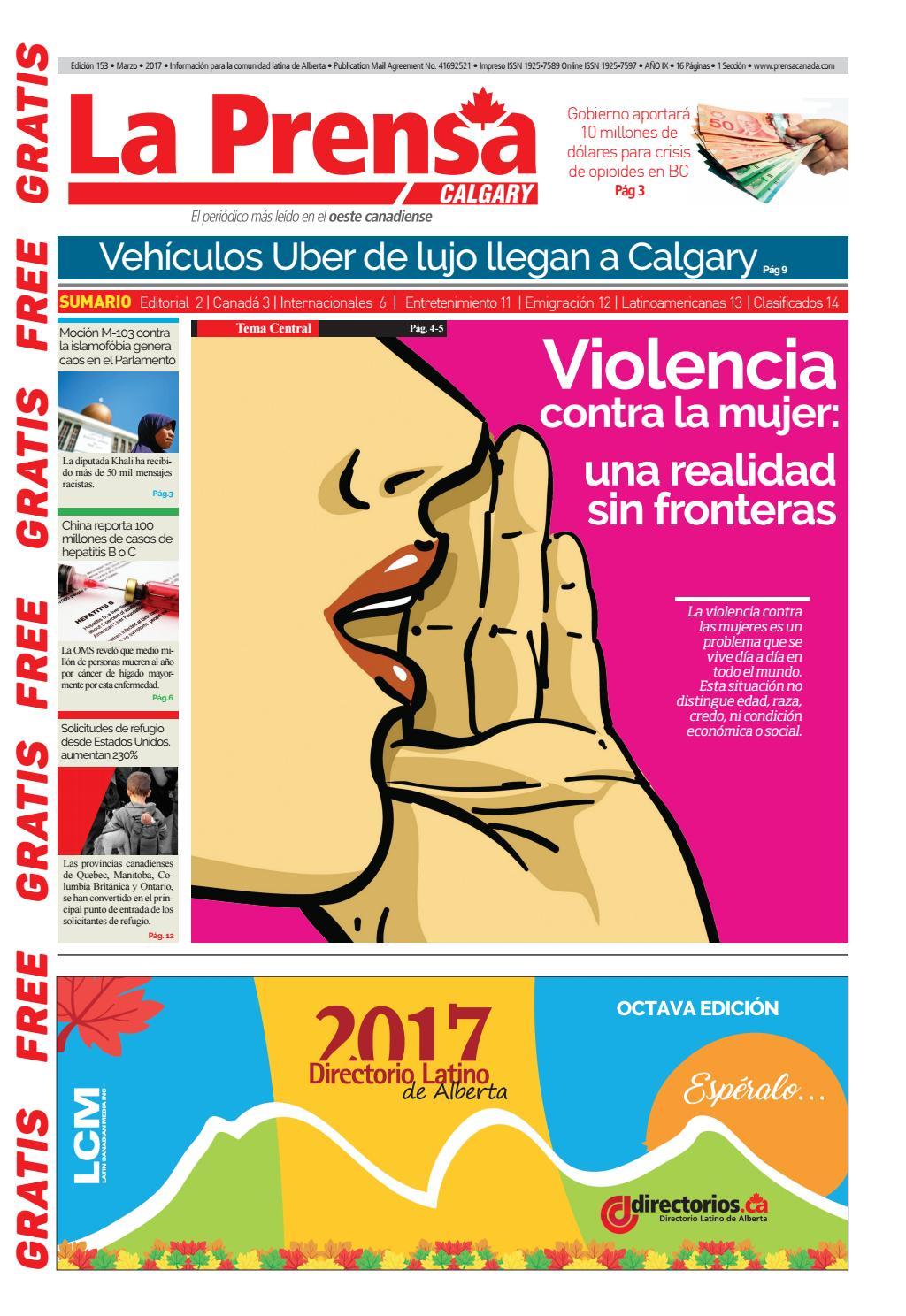 1ra Edición Calgary Marzo 2017 by Buena Vista Editores - issuu