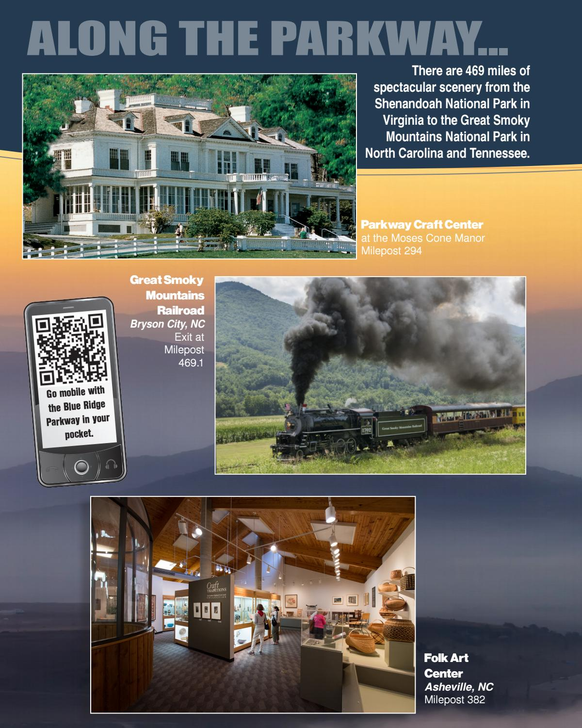 Blue Ridge Parkway Directory & Travel Planner - 68th ...