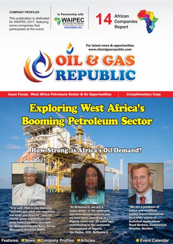 Spotlight on West African Petroleum Sector by OIL AND GAS